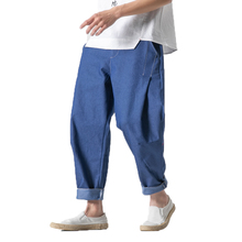 Men Denim Jeans Men Harem Pants Male Vintage Trousers Fashion skinny jeans men Clothes Male Pantalones Hombre hip hop jean 5xl недорго, оригинальная цена