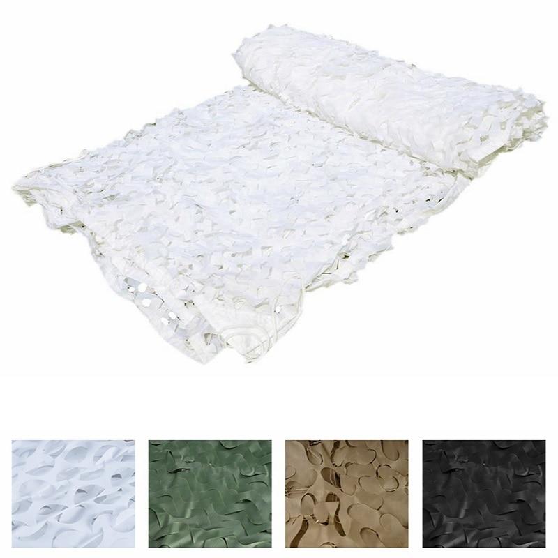 LOOGU EM 3M 4M White Camo Netting Camouflage Netting Sunshade White Camo Net Decoration Snow White