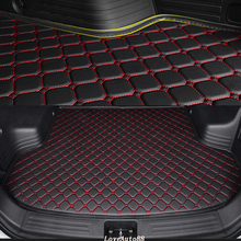 Custom Car Trunk Mat For Honda All model CRV CR-V Accord Civic Fit Jade Freed Car Styling Auto Accessories Car Pad цены онлайн