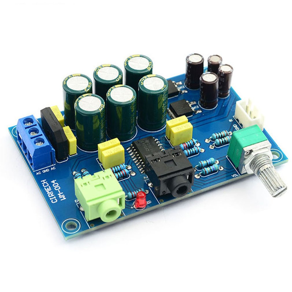TPA6120 Headphone Amplifier Board TPA6120A2 Hifi Zero Noise Amplificador Board DIY /finished