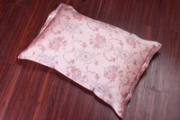 New Arrive Free Shipping 100 Pure Silk Oxford Pillowcase Floral Printed Pillow Cover Envelope Back Ls1103