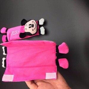 Image 5 - 1 쌍 귀여운 만화 자동차 sefety 좌석 벨트 커버 어린이 좌석 벨트 어깨 패드 보호 플러시 패딩 자동차 액세서리 선물