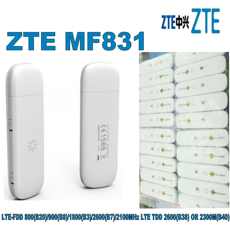 Image 5 - Huawei Lot of 10pcs ZTE MF831 4G LTE USB Modem-in Modems from Computer & Office