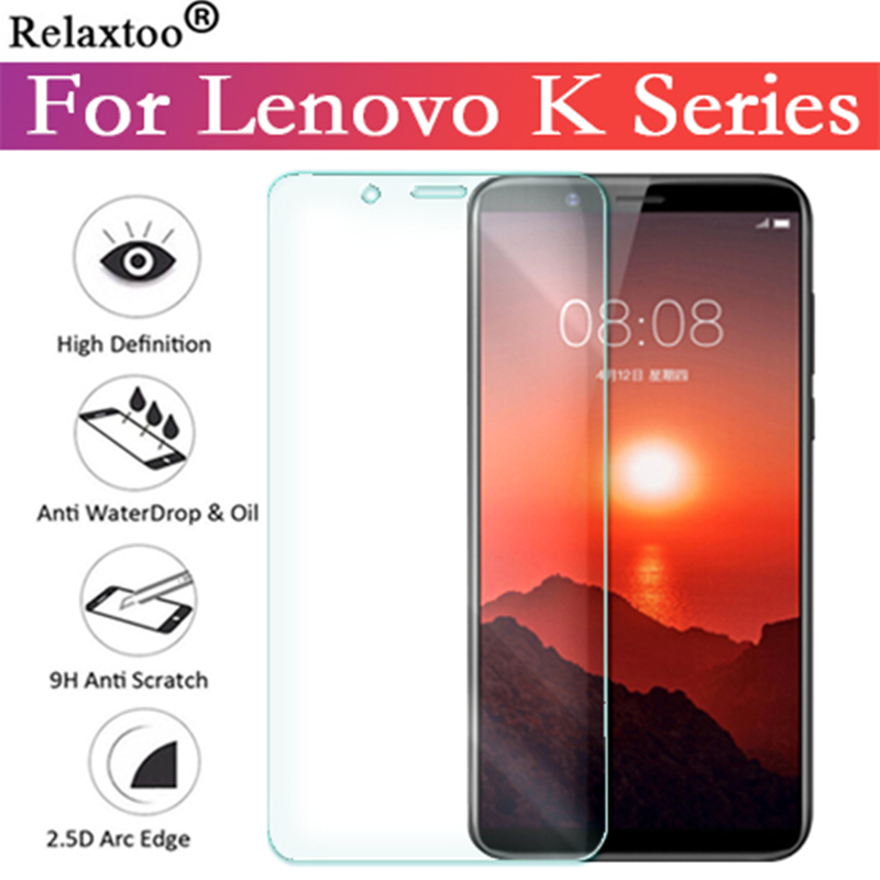For Lenovo K6 Note Glass Screen Protector Protective Glass For Lenovo K5 K3 K Power K900 K920 Plus Tempered Glas Protection Film