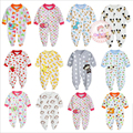 2016 New Baby Girl Clothes Soft Cotton Worm Kids One Pieces Jumpsuits Pajamas Newborn Infant Boys Clothes Baby Costumes Bebes