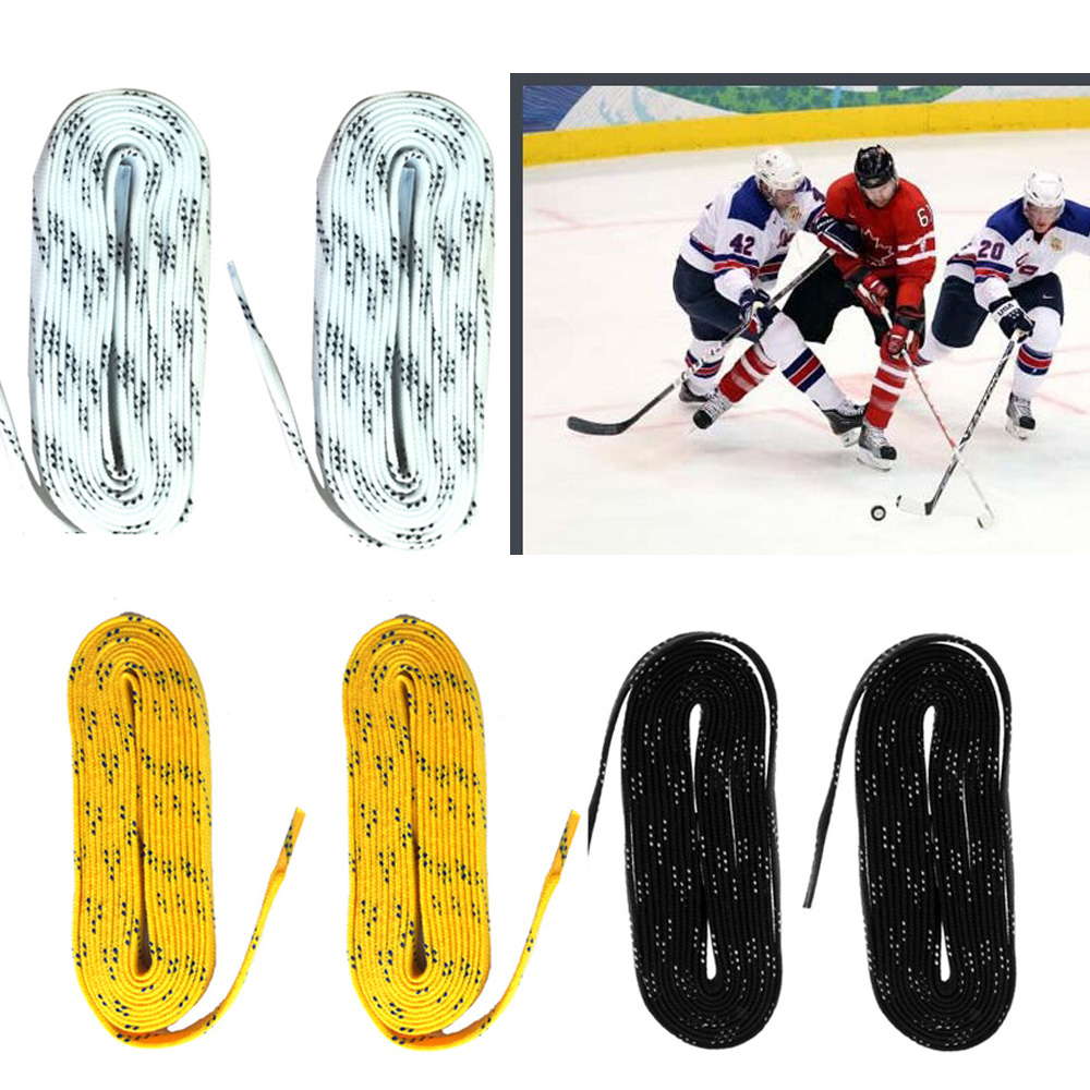 9f3c3d8fe37 Sport Shoe Laces Shoelaces for Ice Hockey Skates Roller Skates Boots Skates  96 Inch