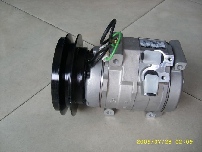 Denso AC Compressor 10S15C 1PK 1 Pulley Clutch for Komatsu