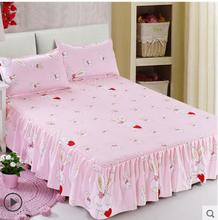 567 Free shipping Simmons single and double contracted a bed skirt sheet bedspread pillowcase 1.8/2 / 1.2/1.5 m