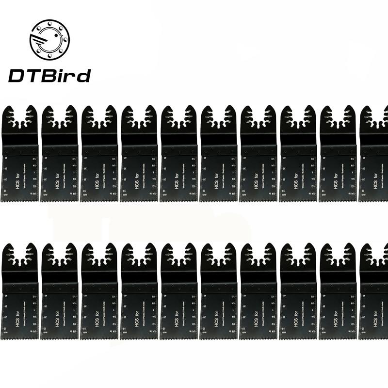 20pcs Multi-Function Bi-metal Precision Saw Blade Oscillating Multitool Saw Blade For Renovator Power Cutting Multimaster Tools