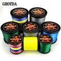 GHOTDA плетеная рыболовная леска  300 м  9 нитей  0 16 мм-0 59 мм  20-108 фунтов  многонитевая плетеная леска
