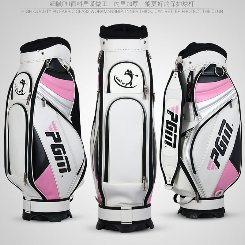 brand PGM, women Complete Golf Set Bag Golf Caddy Bag, golf cart bag staff golf bags. water-proof. Super Anti-Friction PU free shipping dbaihuk golf clothing bags shoes bag double shoulder men s golf apparel bag
