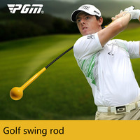 PGM Rhythm Golf Swing Practice Stick Yellow/Red Beginners General Training Soft Rod HGB004