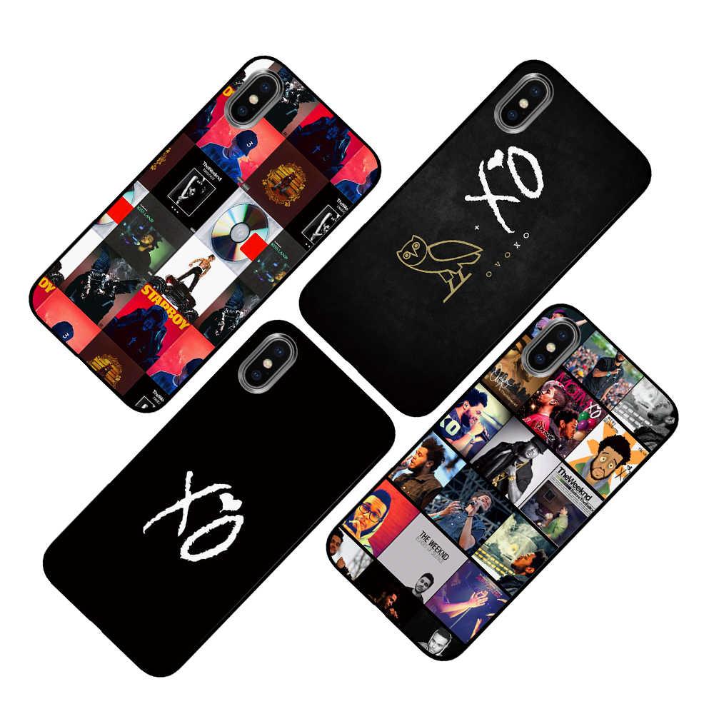 الكرتون يكند Starboy الأسود TPU الفاخرة حالات الغطاء عن اي فون 5 5 S SE 6 6 s 7 8 زائد X XS ماكس XR