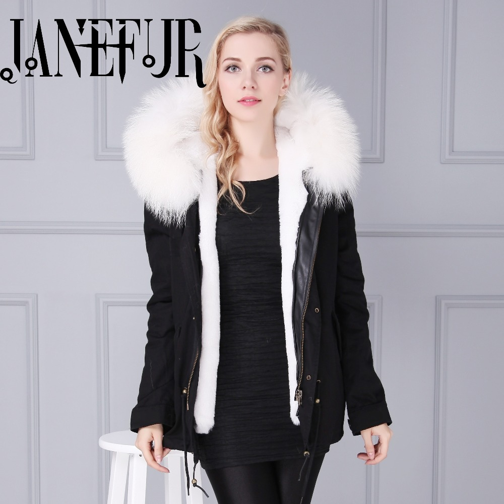 2017 New High Quality Winter Coat Women Real Large Raccoon Fur Parkas Jacket Coats Collar Thicken Warm Padded Cotton Jackets thicken warm 2017 new winter jacket women s parkas coats large raccoon fur collar winter jacket collar hooded fashion quality