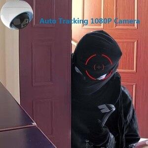 Image 3 - Wdskivi caméra de Surveillance dôme IP WiFi Cloud HD 1080P, dispositif de sécurité sans fil, avec suivi automatique et protocole ONVIF P2P RTSP NAS