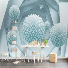 3D stereo ball space background wall professional production mural wholesale wallpaper custom photo