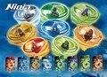 Ninja Marvel Flying Rotary Remoto de Bloques de Construcción de Juguetes de Los Niños Jugando Ninjagoed