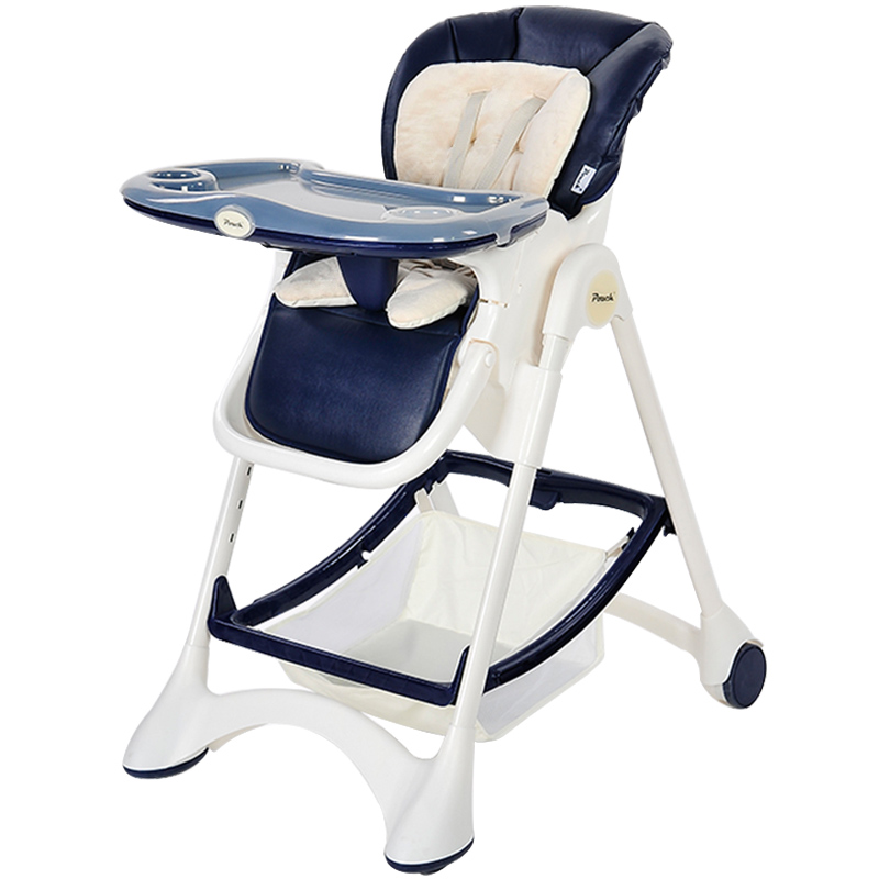 German Pouch Baby Chair, Children's Multi-function Baby Dining Chair Folding, Portable Dining Table Chair Seat