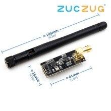 NRF24L01 + PA + LNA módulo inalámbrico con antena 1000 metros de larga distancia FZ0410 Somos el fabricante