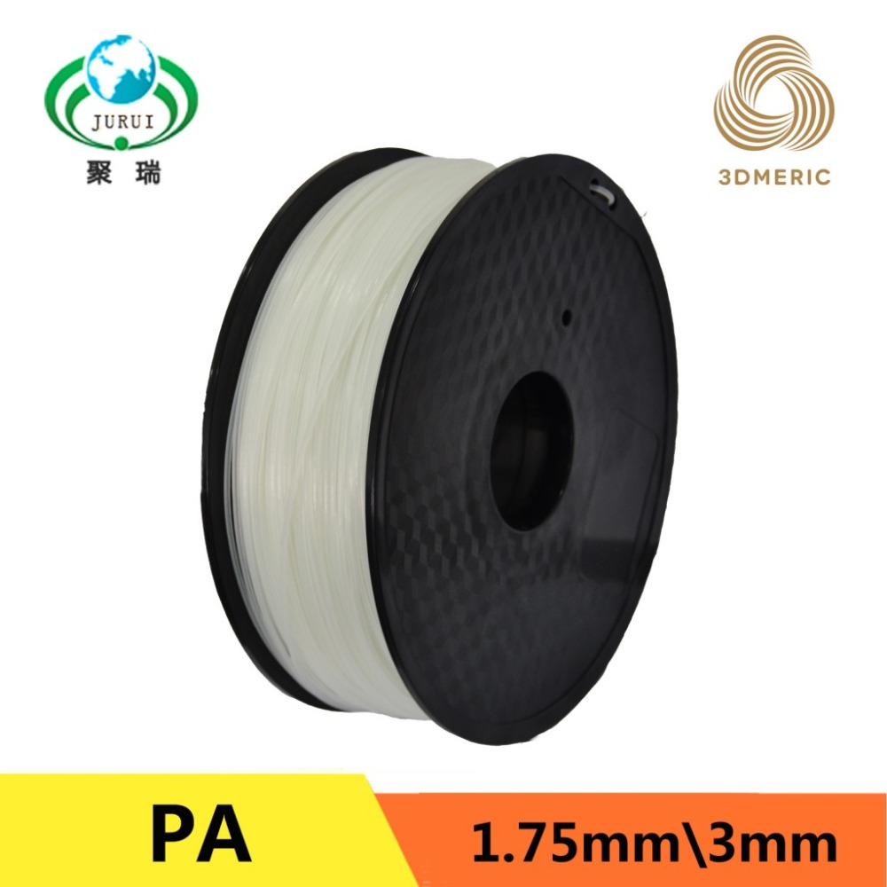 1.75mm PA Nylon 3D Printer Filament For MakerBot RepRap UP Mendel 1KG/Spool 3D Printer Filament Consumables Material насос gidroforce atqb60