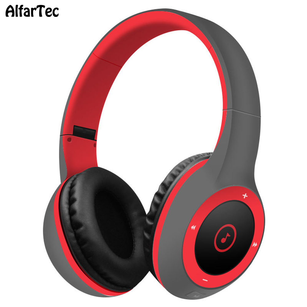 T8 Super Bass Stereo TF Card Headband With Mic Bluetooth Noise Canceling Portable Headset For Xiaomi Huawei Samsung Iphones original fashion bluedio t2 turbo wireless bluetooth 4 1 stereo headphone noise canceling headset with mic high bass quality