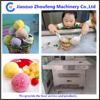 Ice cream marble fried ice mesa ultralow temperature cold marble icecream maker
