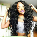 Thick Hair 4*4 Silk Base Full Lace Wig Body Wave Brazilian Virgin Hair Silk Top Density 180% Human Hair Glueless Lace Front Wigs