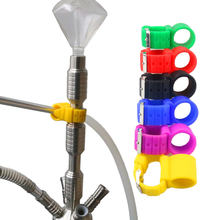 1 X Watch Style Silicone Shisha Hose Holder For Hookah Chicha Narguile Hose Smoking Accessories(China)