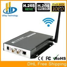 URay H.265 H.264 SD HD 3G SDI Para Streaming de IP Suporte HTTP UDP RTMP RTSP Codificador Codificador de vídeo Sem Fio WI-FI ONVIF