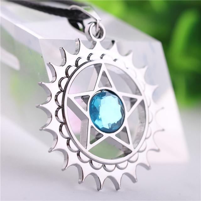 Michaelis Black Butler Anime Jewelry Necklace