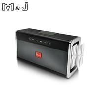M&J Bluetooth Portable Speaker big power 10W system Wireless Soundbar Audio Receiver Mini Speakers USB AUX for Music MP3 Player