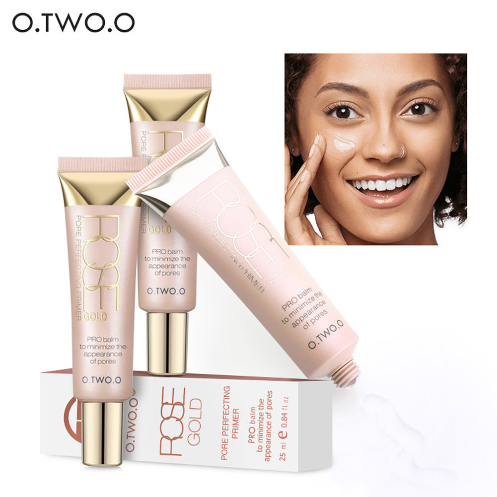 O.TWO.O ON SALE Make Up Moisturizing Oil Control Face Primer Base Foundation Primer Makeup Cream Sunscreen Skin care for lady
