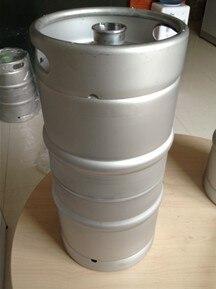 Quart de fût de bière en acier inoxydable
