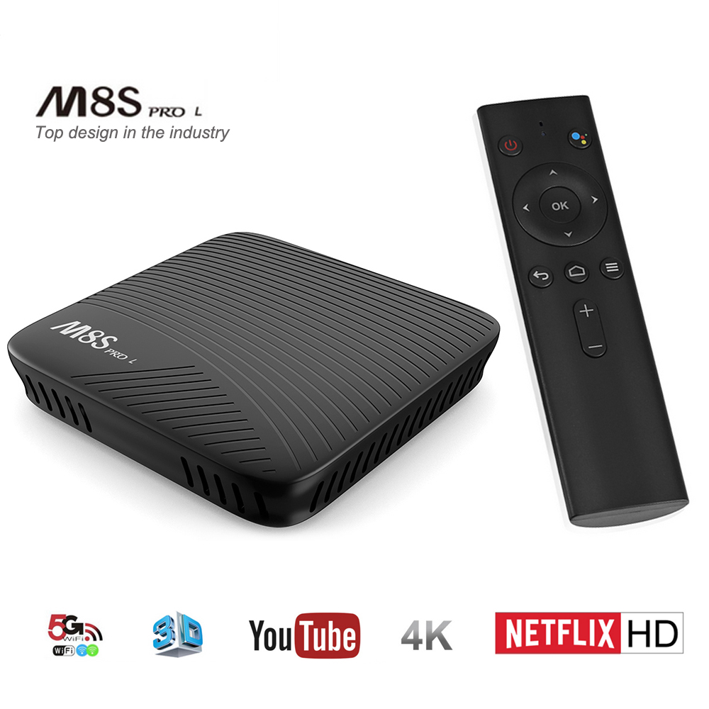 Mecool M8S PRO L Smart TV Box Android 7.1 Amlogic S912 3GB RAM 16GB ROM 5G Wifi IPTV Set-top Box Voice Remote Control PK X96 mecool m8s pro l smart tv box android 7 1 amlogic s912 3gb ram 16gb rom 5g wifi iptv set top box voice remote control pk x96