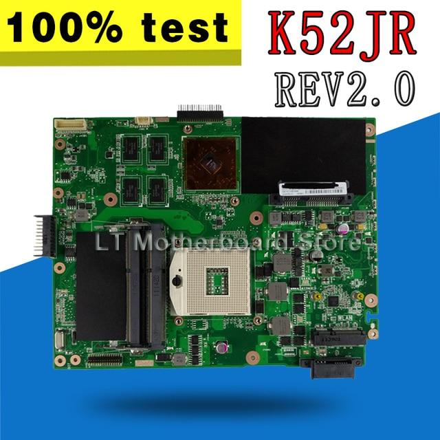 K52JR REV2.0 Laptop Cho ASUS A52J X52J K52J K52JR K52JE K52JC K52JU K52JB test Mainboard 100% OK