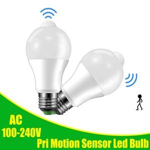 Led Bulb Light With Motion Sen