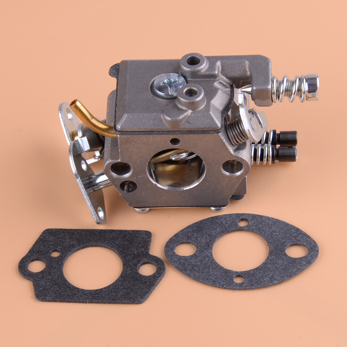 LETAOSK Carburateur Kit 530071987 530019172 530035482 Ajustement Pour Husqvarna 36 41 136 137 137e 141 142 Tronçonneuse Zama C1Q-W29E