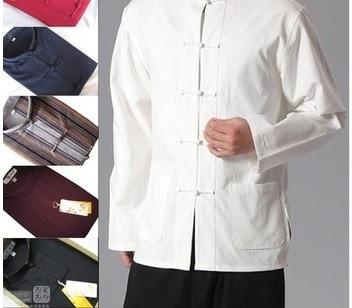 Agressief Traditionele Chinese Kleding Heren Shirts Oriëntatie Man Voor Mannen Mens Chinese Kleding Chinese Traditionele Kleding Voor Mannen