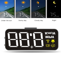 High definition H90 Car Windshield Head Up Display HUD HD Display Windshield Projector HeadUp Display