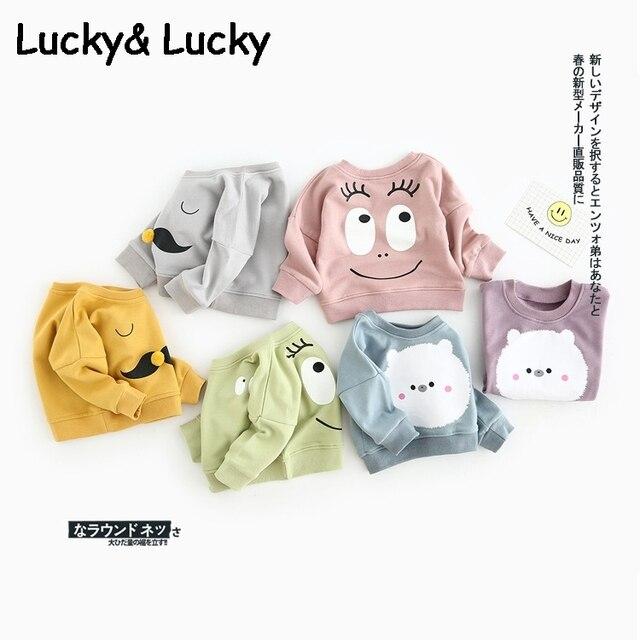 Новые детские футболки хлопок мальчик одежда для новорожденных топы с длинным рукавом девочка одежда
