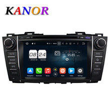 KANOR Android 6 0 Octa Core 4G 32G ROM Car Video Player For Mazda 5 Premacy