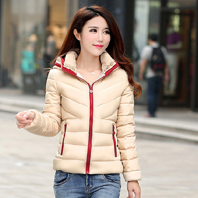 ZOGAA NEW Women Down Cotton Coat Padded   Parkas   for Women Slim Fit Cotton Jacket Coat Female   Parka   Hoodies Jackets