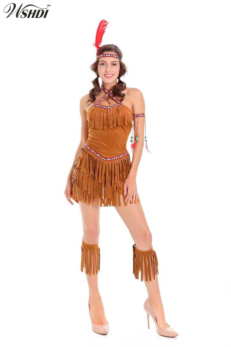 Native Indian Sexy Costume