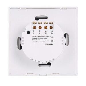 Image 2 - NEO COOLCAM NAS SC01Z interruptor de luz de pared z wave Plus, 2CH Gang Home Automation Z wave, interruptor de luz de Control remoto inalámbrico