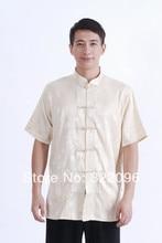 Shanghai Story  hot sale Tang Costume chinese silk shirt Traditional Chinese shirt for men Tang top mandarin collar shirt