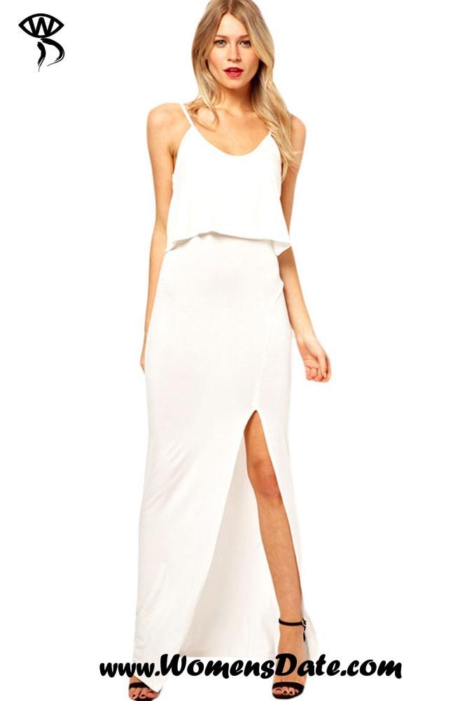 Popular Trendy White Dresses-Buy Cheap Trendy White Dresses lots ...