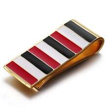 Moderne – Brand New 2016 cuivre Clip de l'argent mince poche bourse titulaire de trésorerie carte de serrage organisateur hommes femmes portefeuille