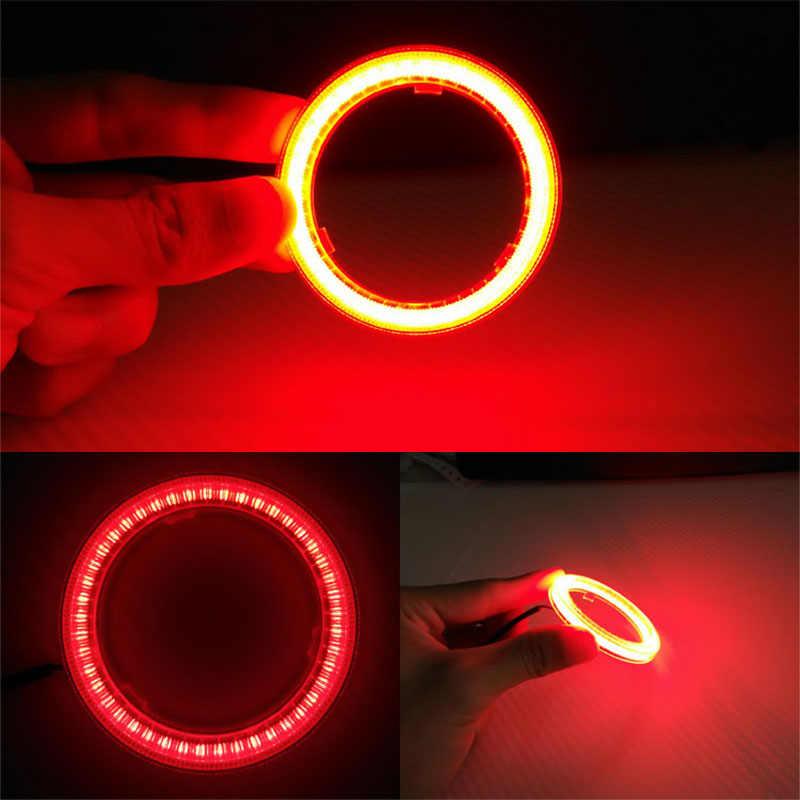 Atreus 2 pc רכב מלאך עיני Halo טבעת עם אהילים LED עבור ניסן הקאשקאי סיטרואן c4 c5 c3 שברולט cruze aveo פיג 'ו 207 307