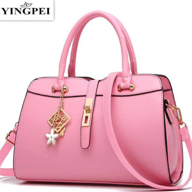 New Fashion Brand Red PU Leather Tote Vintage Women Bucket Designer Handbags High Quality Portable Women Messenger Shoulder Bags