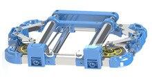 Новое Поступление Складной портативный корзина Главная алюминиевого сплава корзина трамвай Багажа трейлер Алюминиевого сплава корзина автомобиль